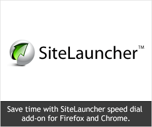SiteLauncher - Speed Dial Add-on for Firefox and Chrome